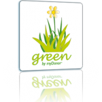Logo software Green by myDonor® con modulo gestione sad