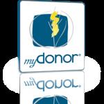 Logo software myDonor® con modulo di sostegno a distanza