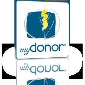 Logo software myDonor®