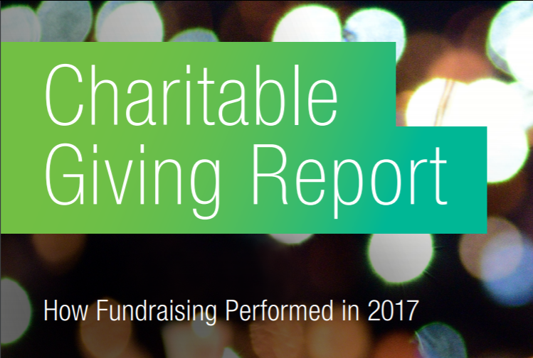 The 2017 Charitable Giving Report by BalckBaud® has arrived!