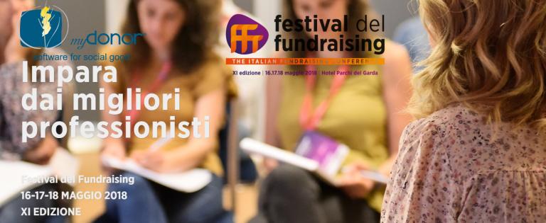 Festival del Fundraising 2018 un successo anche per myDonor®