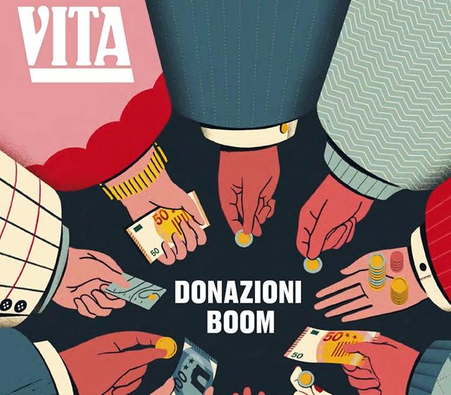 Italian Giving Report 2019 di Vita, articolo sulle Landing Page UX myDonor®