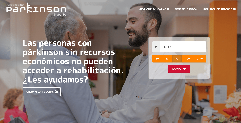 Anche in Spagna piace la Landing Page UX di myDonor®