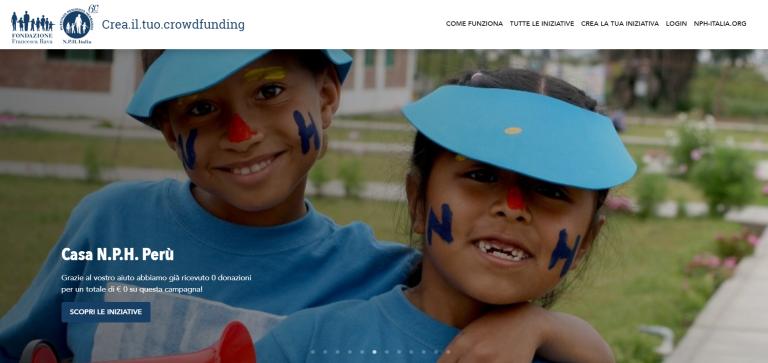 E' online la piattaforma di crowdfunding della Fondazione Francesca Rava