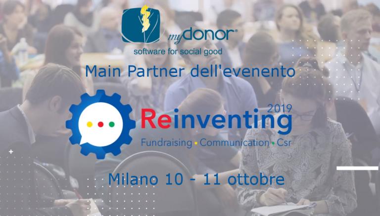 Reinventing – Milano 10 e 11 ottobre 2019