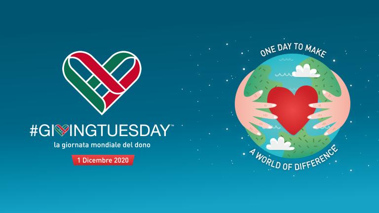 1 dicembre 2020 è  GivingTuesday – La giornata mondiale del dono